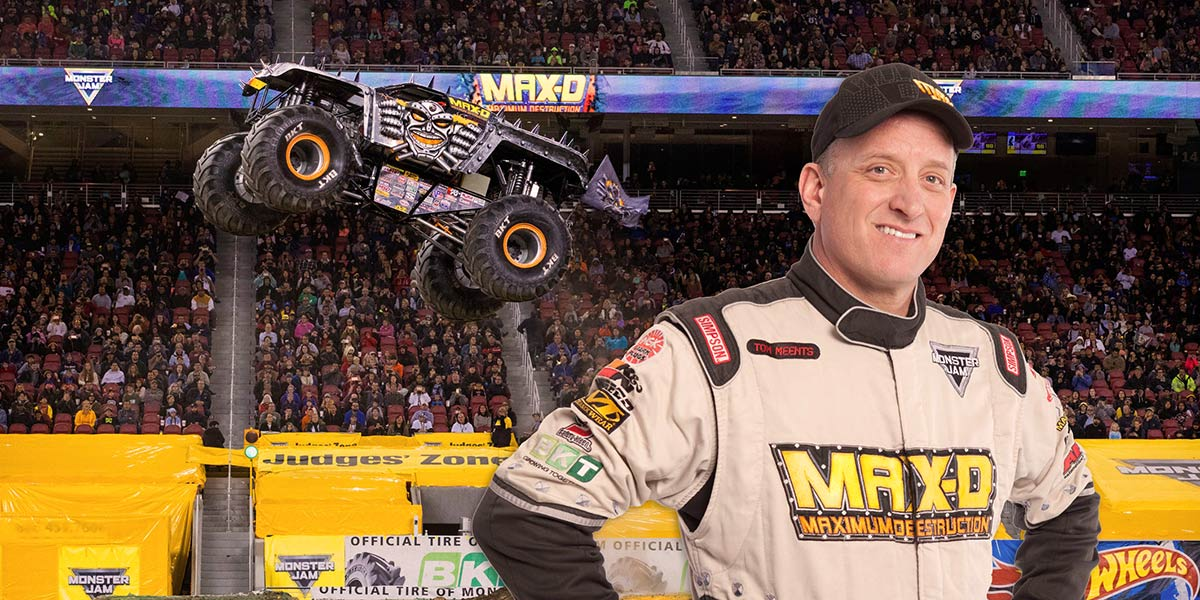 Tom Meents | Monster Trucks Wiki | FANDOM powered by Wikia |Tom Meents Monster Truck Driver